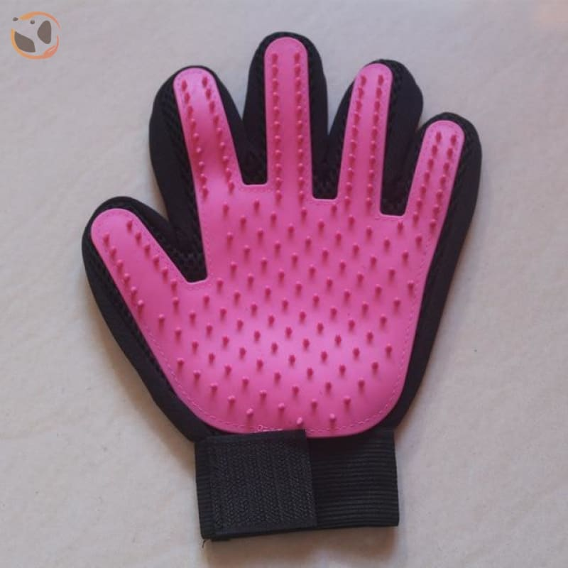 Cat Hair Removal Gloves&Mitts - left pink