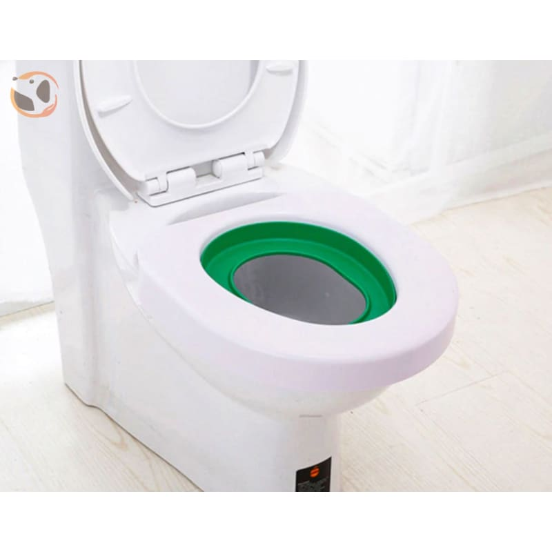 Cat Training Toilet Seat with Plastic Litter Box