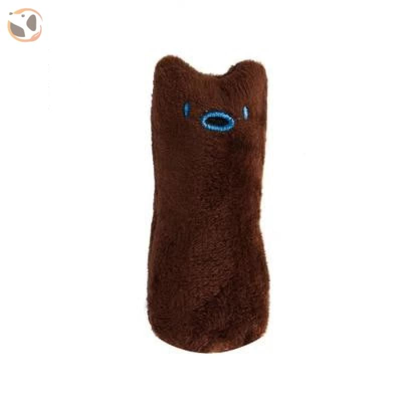 Chewable Catnip Scented Interactive Cat Toy - coffee