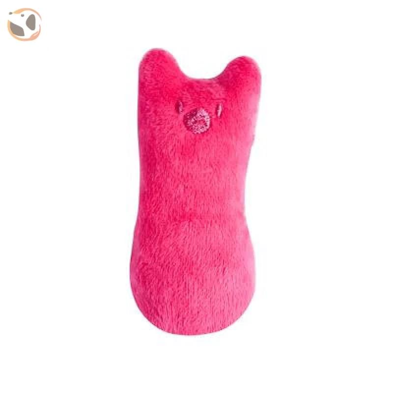 Chewable Catnip Scented Interactive Cat Toy - pink