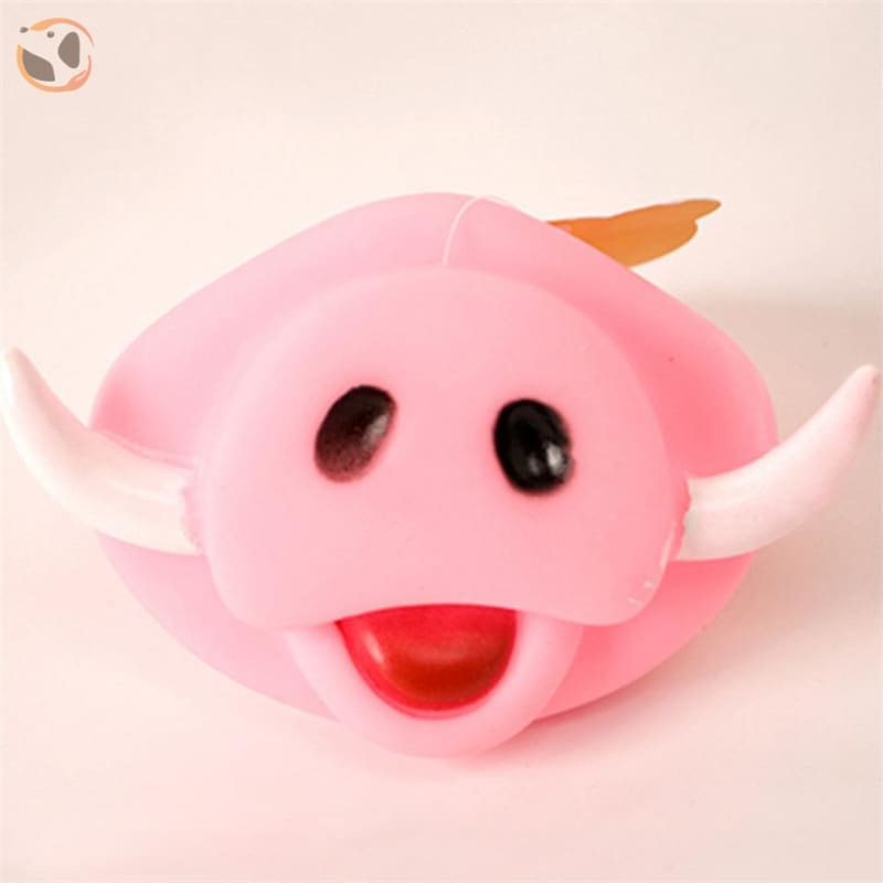 Chewable Funny Dog Squeaky Toys - Pig Nose