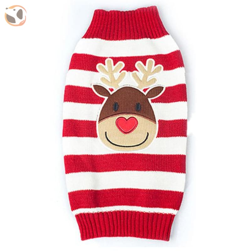 Christmas Sweater for Dogs & Cats - Christmas Style 1 / XXS