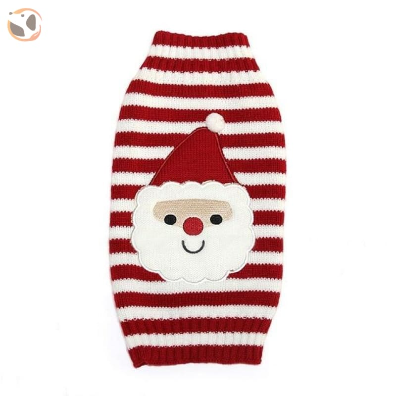 Christmas Sweater for Dogs & Cats - Christmas Style 2 / XXS