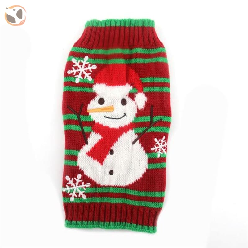 Christmas Sweater for Dogs & Cats - Christmas Style 3 / XXS