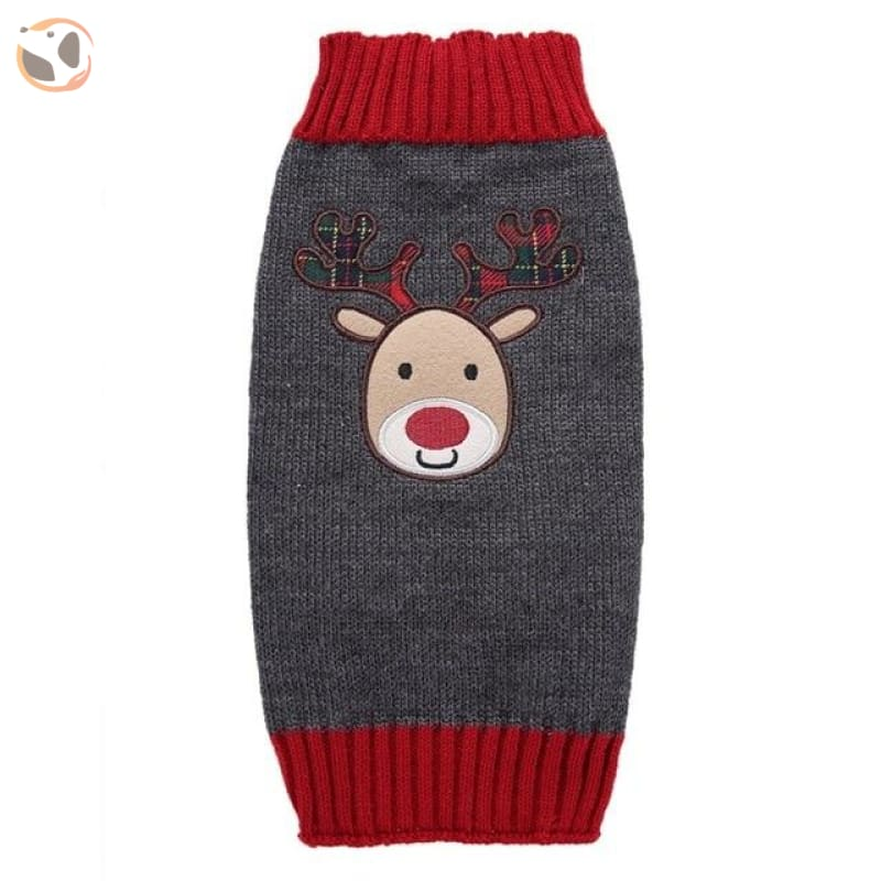 Christmas Sweater for Dogs & Cats - Christmas Style 4 / XXS