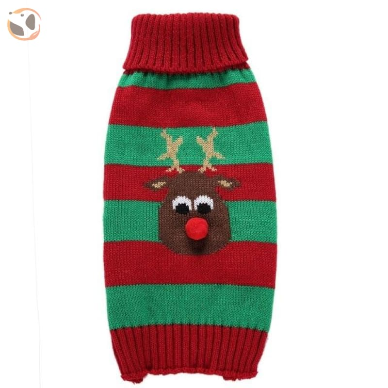 Christmas Sweater for Dogs & Cats - Christmas Style 5 / XXS