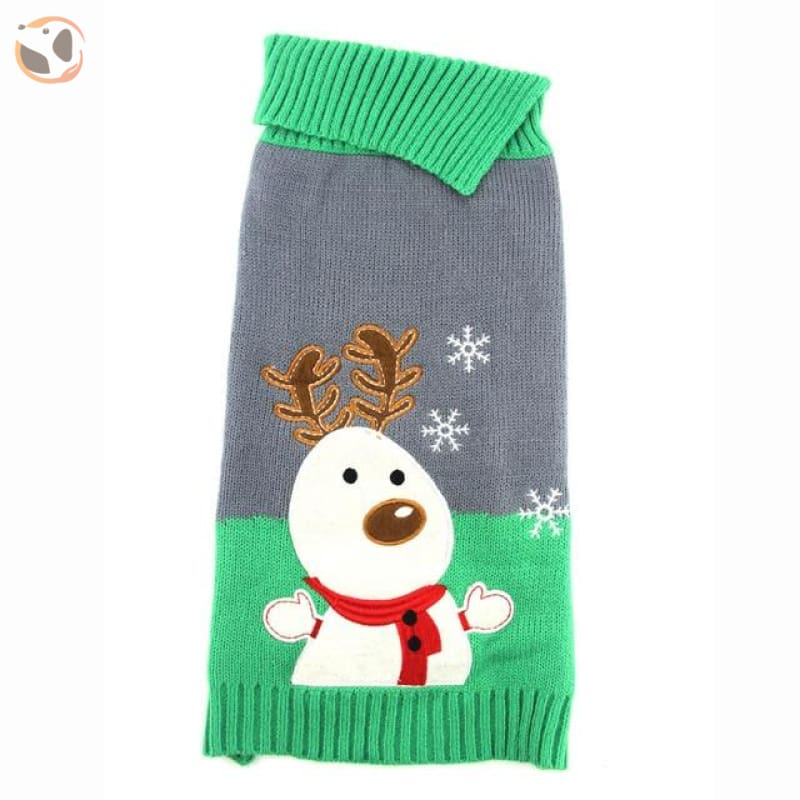 Christmas Sweater for Dogs & Cats - Christmas Style 6 / XXS