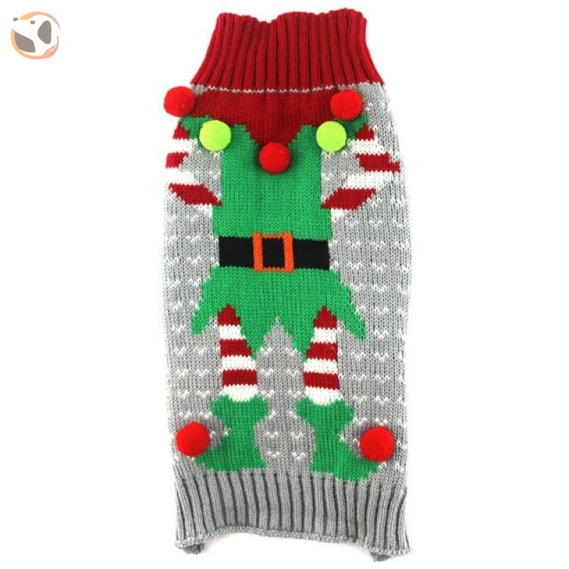 Christmas Sweater for Dogs & Cats - Christmas Style 7 / XXS