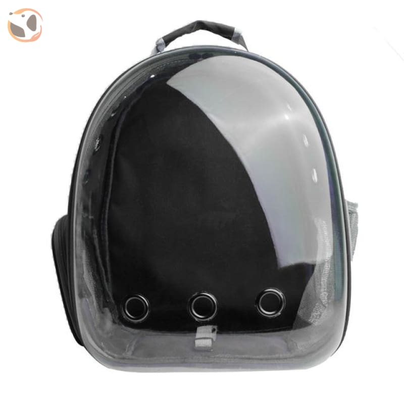 Clear Window Design Car Carrier Backpack - Black