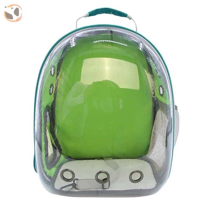 Clear Window Design Car Carrier Backpack - Green
