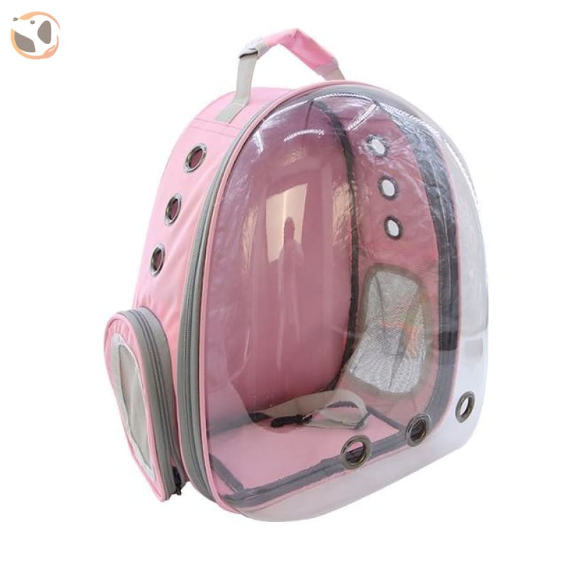 Clear Window Design Car Carrier Backpack - Pink