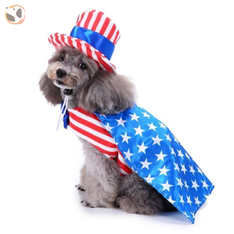 Dog Cosplay Costumes For Halloween - America / S