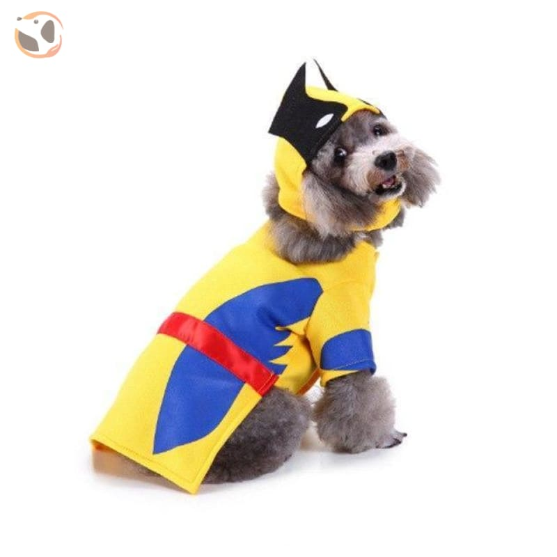 Dog Cosplay Costumes For Halloween - Batgirl / S