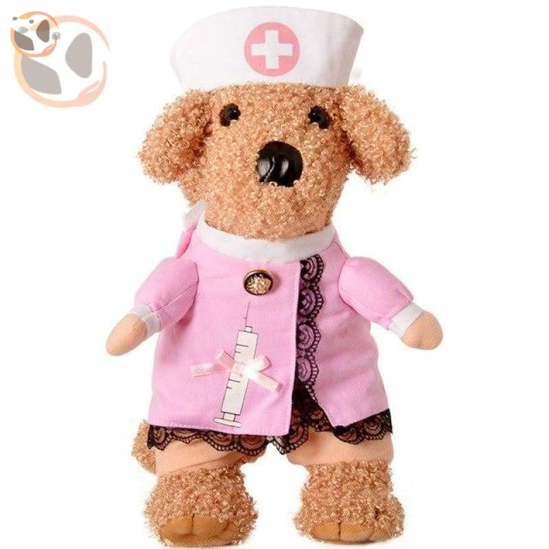 Dog Cosplay Costumes For Halloween - Nurse / S