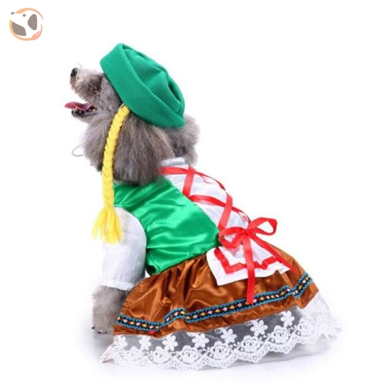 Dog Cosplay Costumes For Halloween - Octoberfest / S
