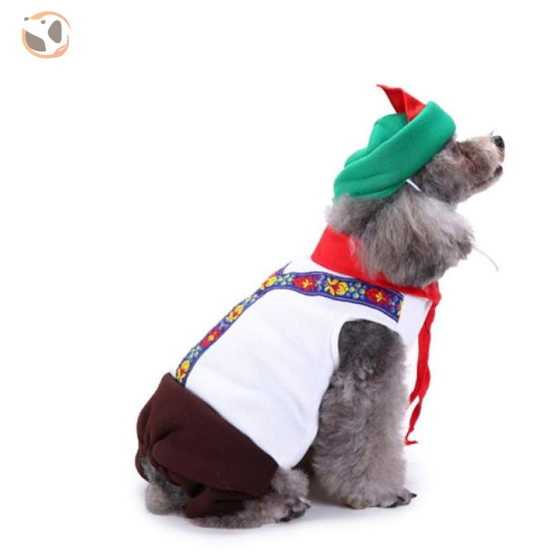 Dog Cosplay Costumes For Halloween - Peter Pan / S