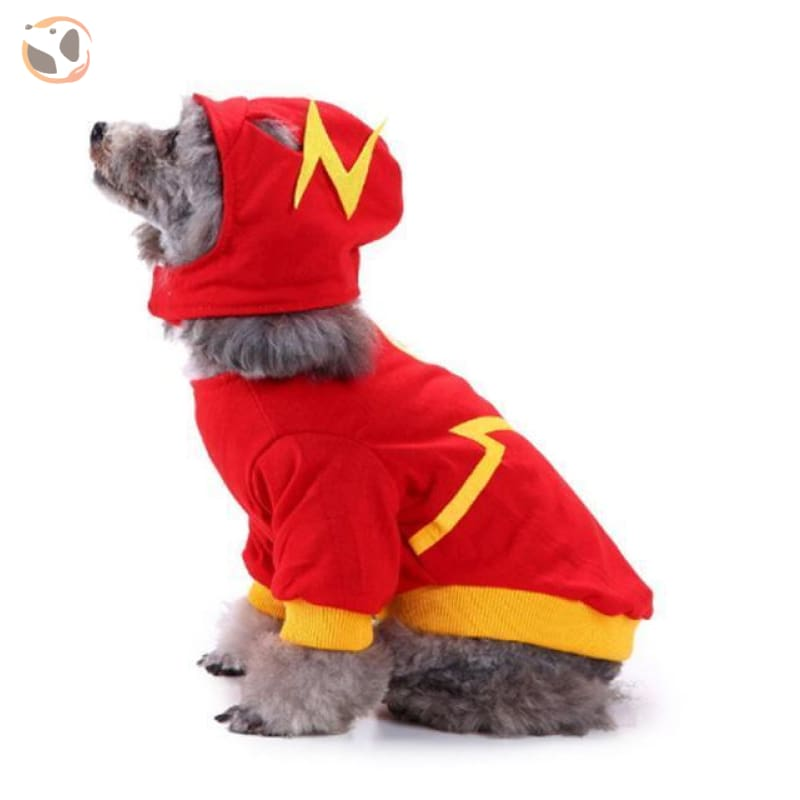 Dog Cosplay Costumes For Halloween - The Flash / S