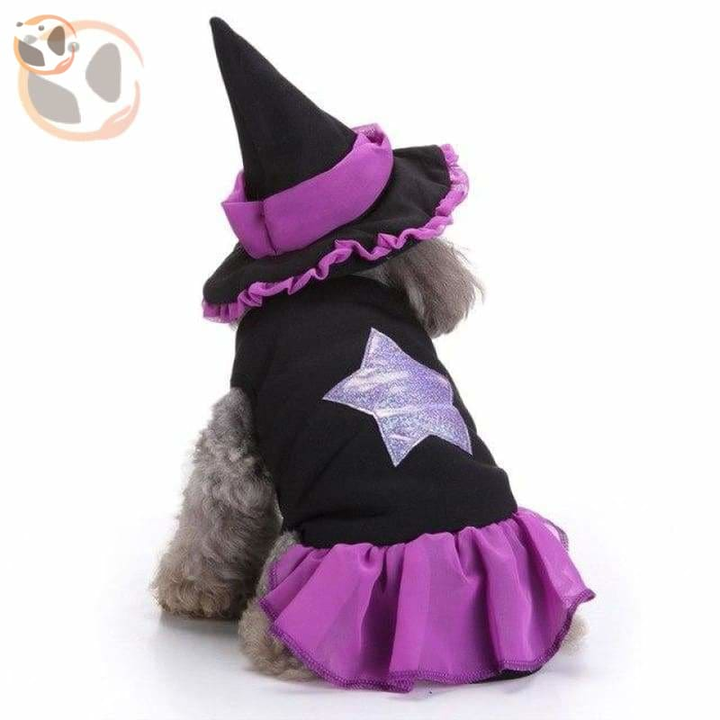 Dog Cosplay Costumes For Halloween - Wizard / S