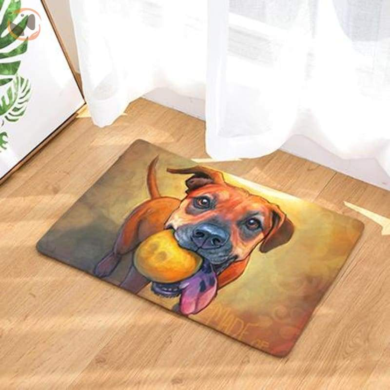 Dog Print Doormats - 12 / 20in x 30in