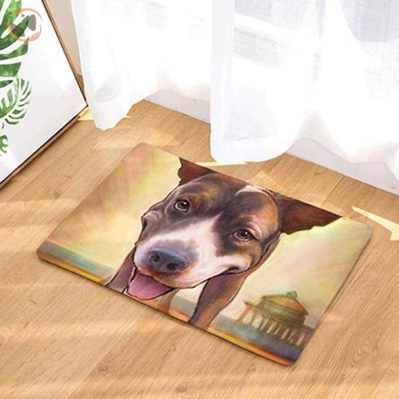 Dog Print Doormats - 11 / 20in x 30in