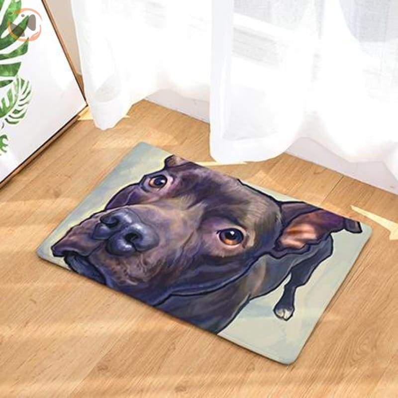 Dog Print Doormats - 15 / 20in x 30in