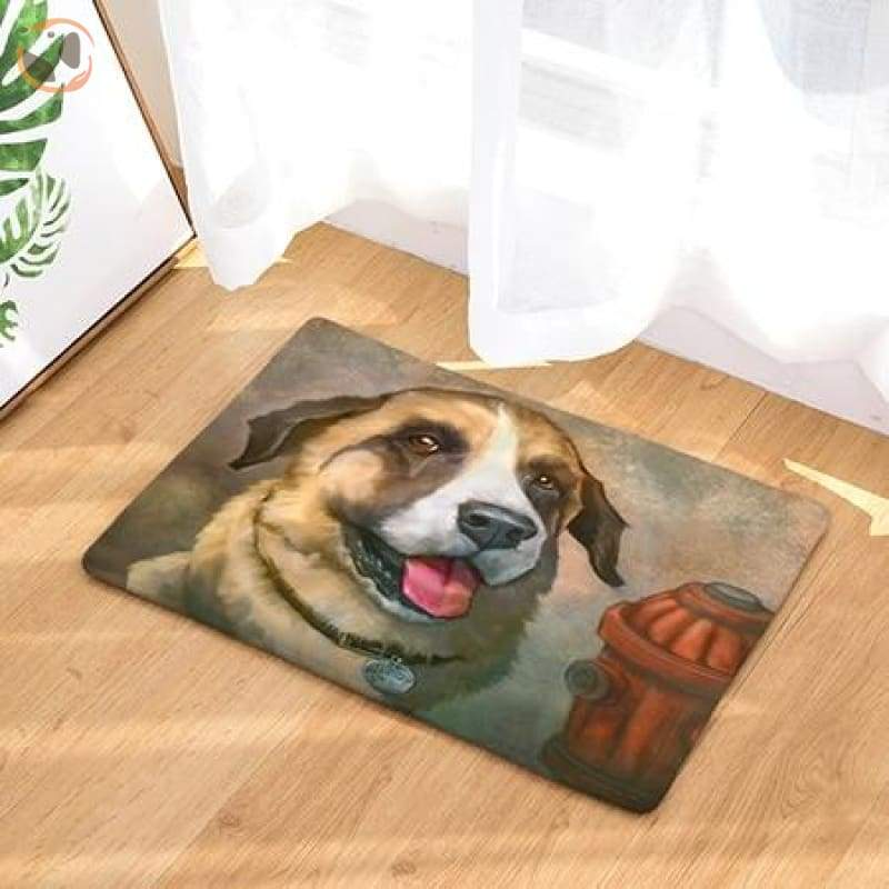 Dog Print Doormats - 14 / 20in x 30in