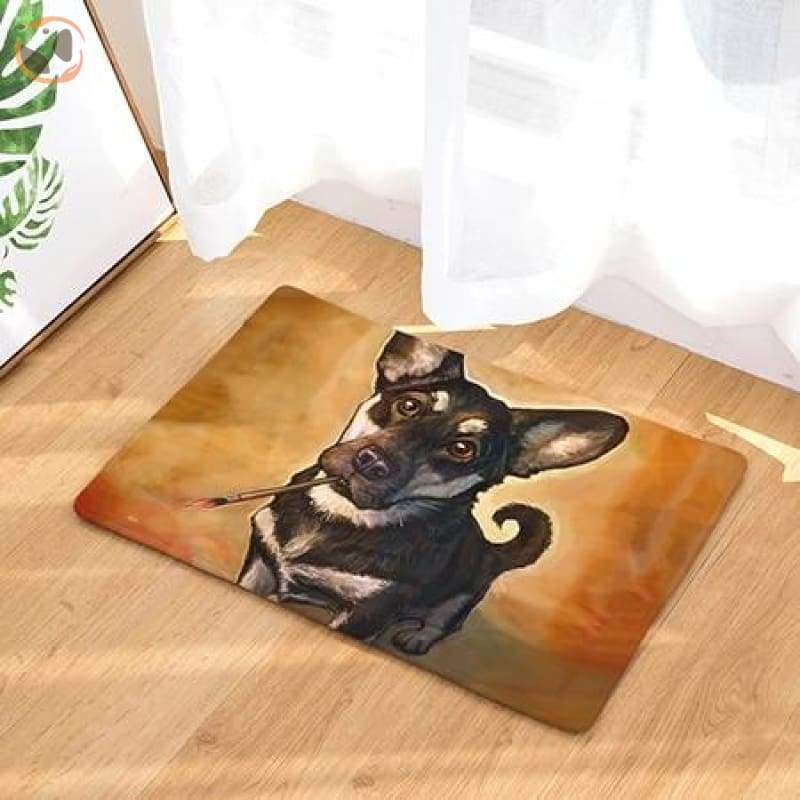 Dog Print Doormats - 4 / 20in x 30in