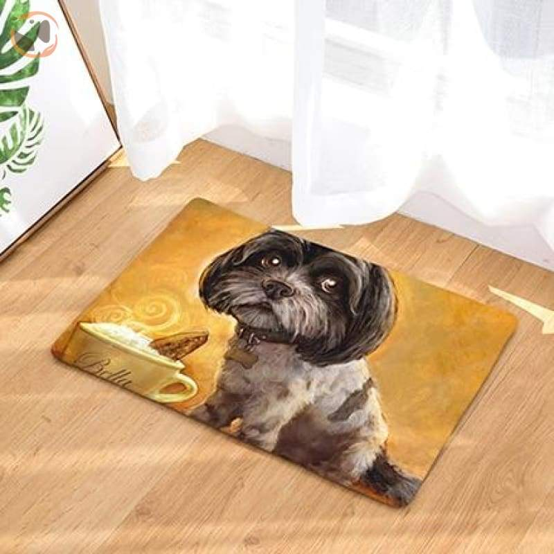 Dog Print Doormats - 17 / 20in x 30in