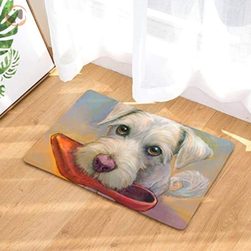 Dog Print Doormats - 1 / 20in x 30in