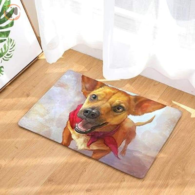 Dog Print Doormats - 9 / 20in x 30in