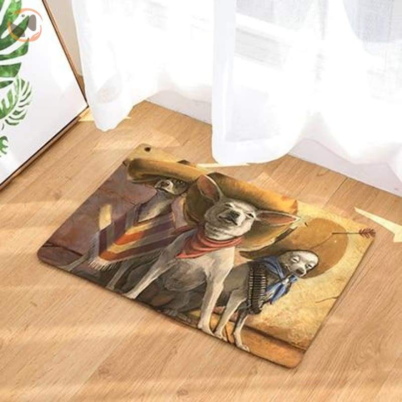 Dog Print Doormats - 5 / 20in x 30in