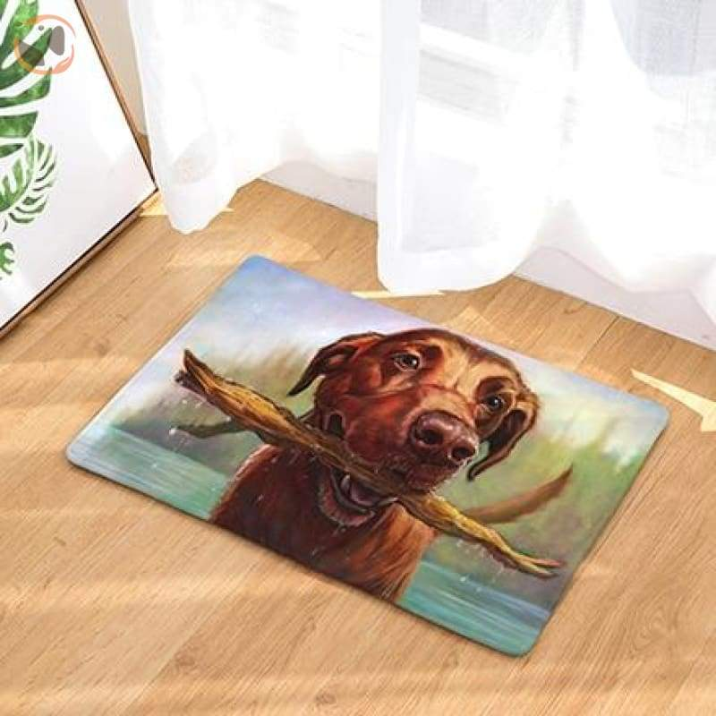 Dog Print Doormats - 13 / 20in x 30in