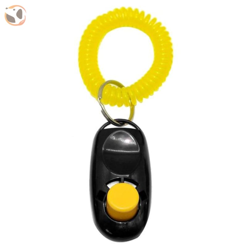 Dog Training Clicker With Wrist Strap - S / Black