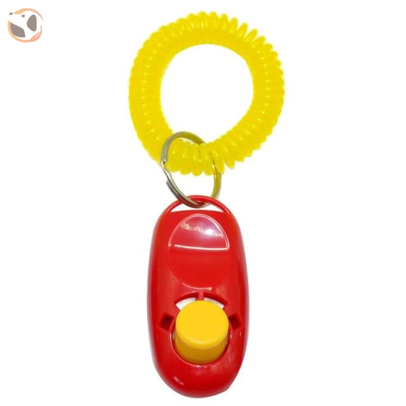 Dog Training Clicker With Wrist Strap - S / Red