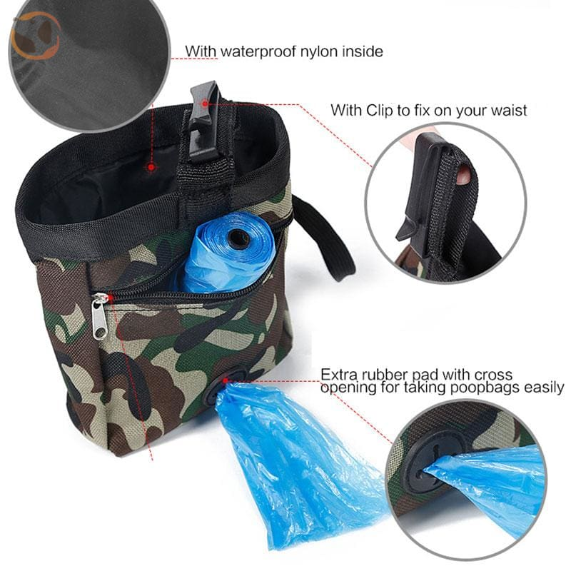 Dog Training Waist Bag For Snack Reward