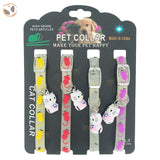 Dogs & Cats Collar with Glowing Bells and Light - Cartoon Cat Bell / 4pcs