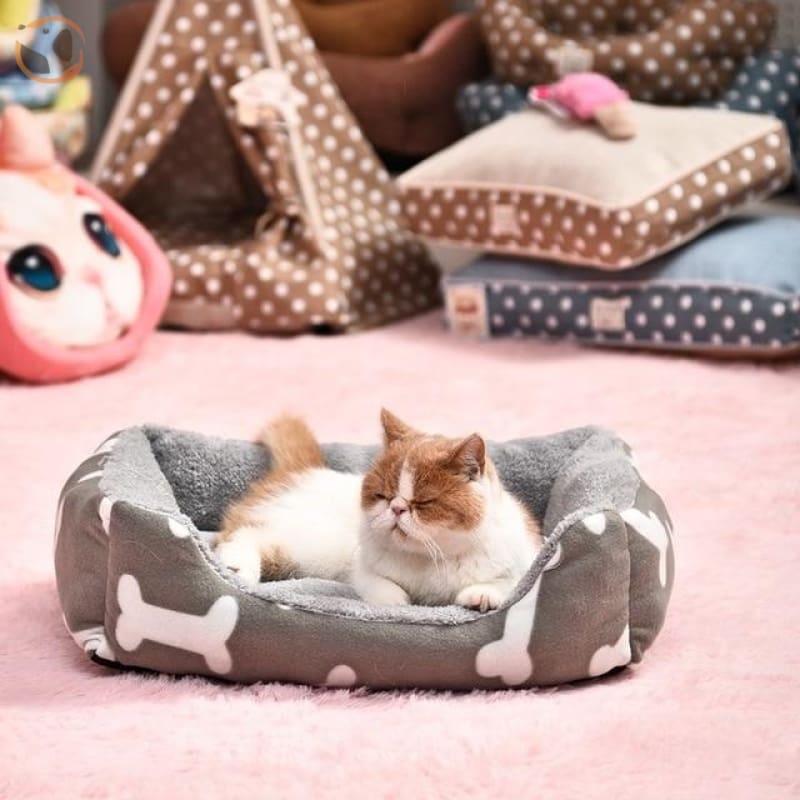 Egg Shape Sleeping Beds for Cats - Pattern 2 / M
