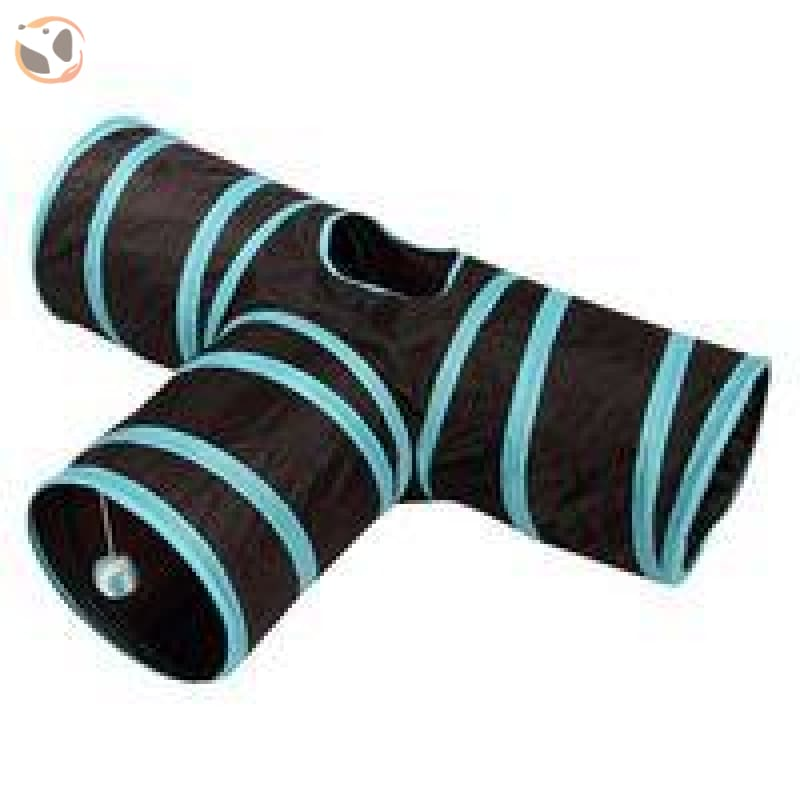 Foldable Pet Tunnel with Holes - Camouflage - 3 Holes