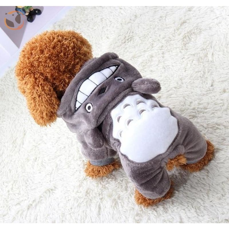 Funny Cat Costumes - Gray Bear / XS