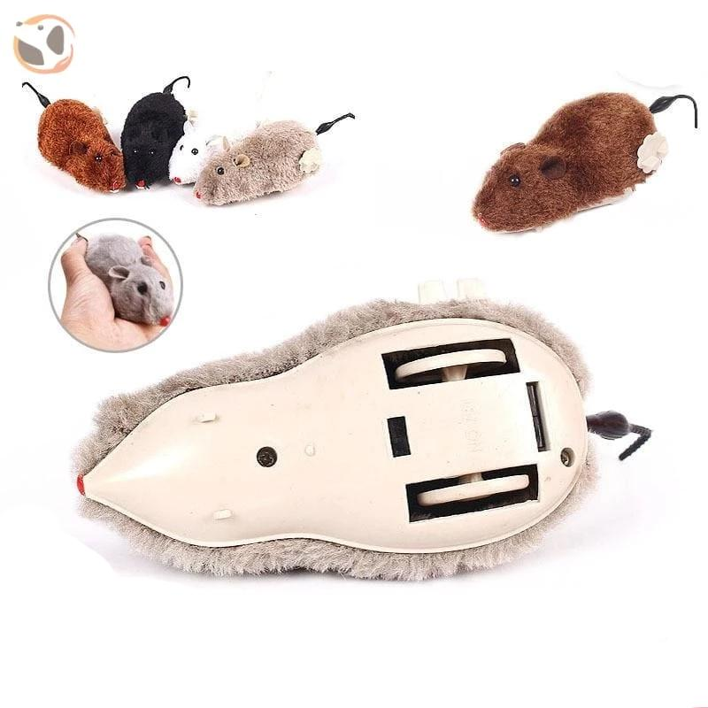 Funny Clockwork Mouse Toy for Cats