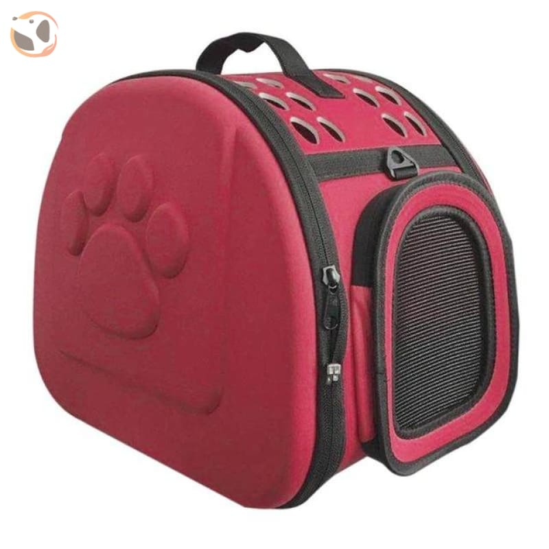 Handbag Pet Carrier for Dogs and Cats - Red / 42X32X28cm / China