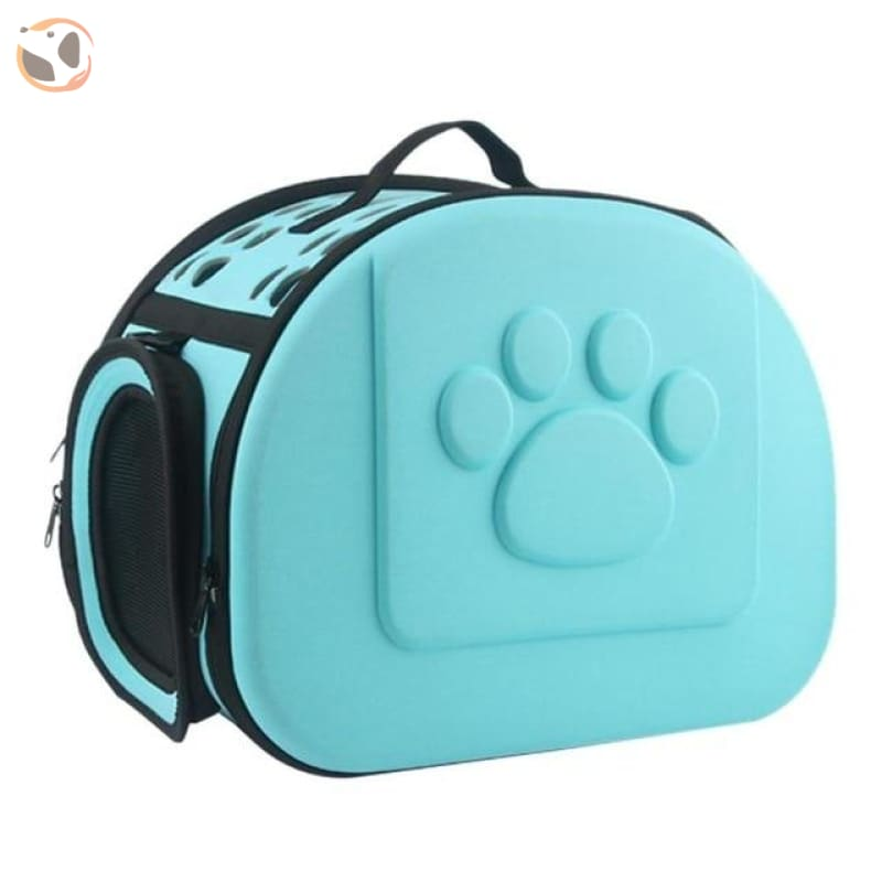 Handbag Pet Carrier for Dogs and Cats - Sky Blue / 42X32X28cm / China