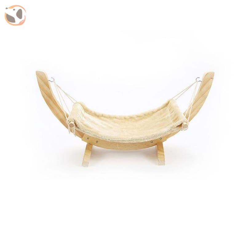 Hanging Hammock Bed for Small Pets - Beige