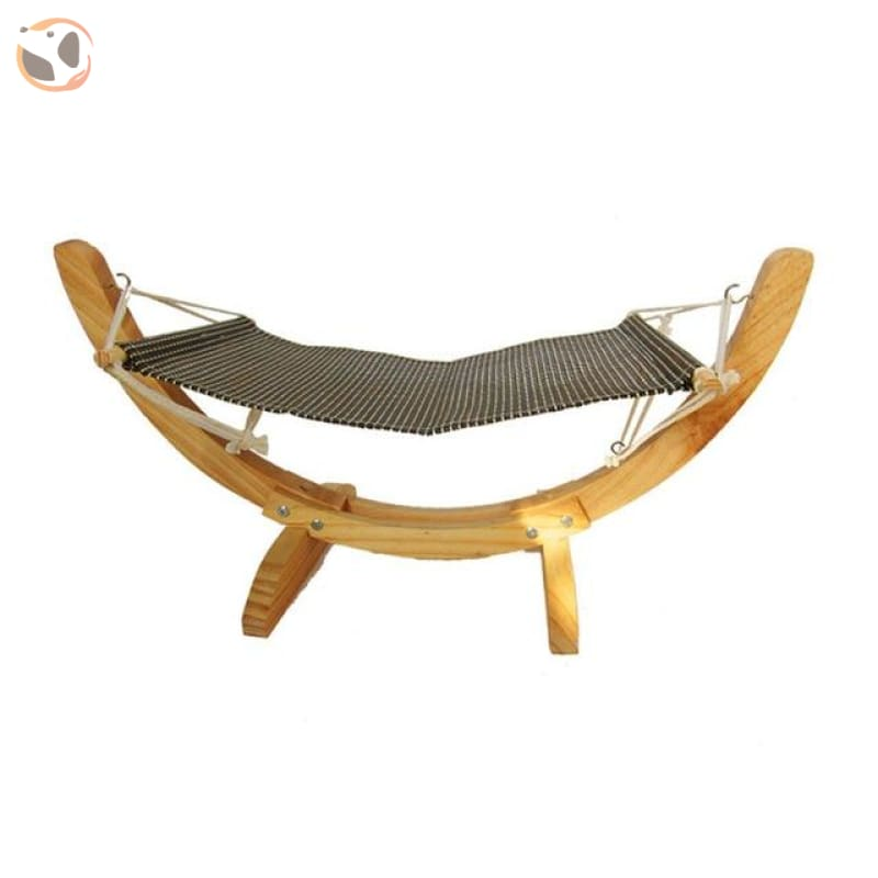 Hanging Hammock Bed for Small Pets - Grey