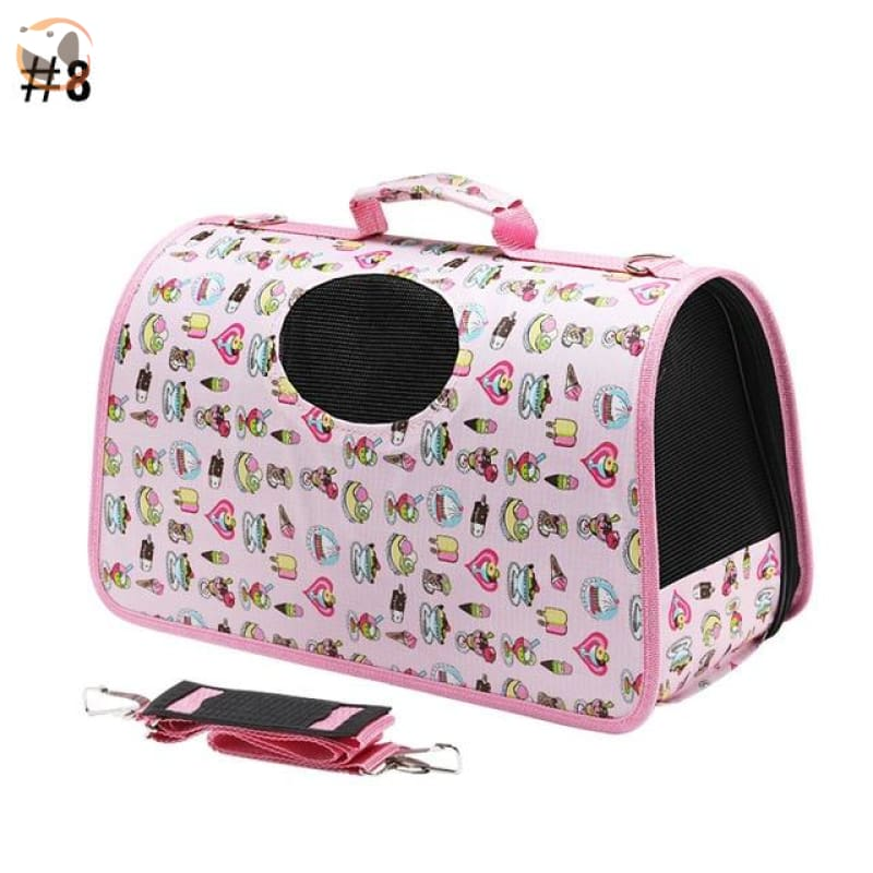 High quality Cat Carrier Backpack - Dessert Pattern / S