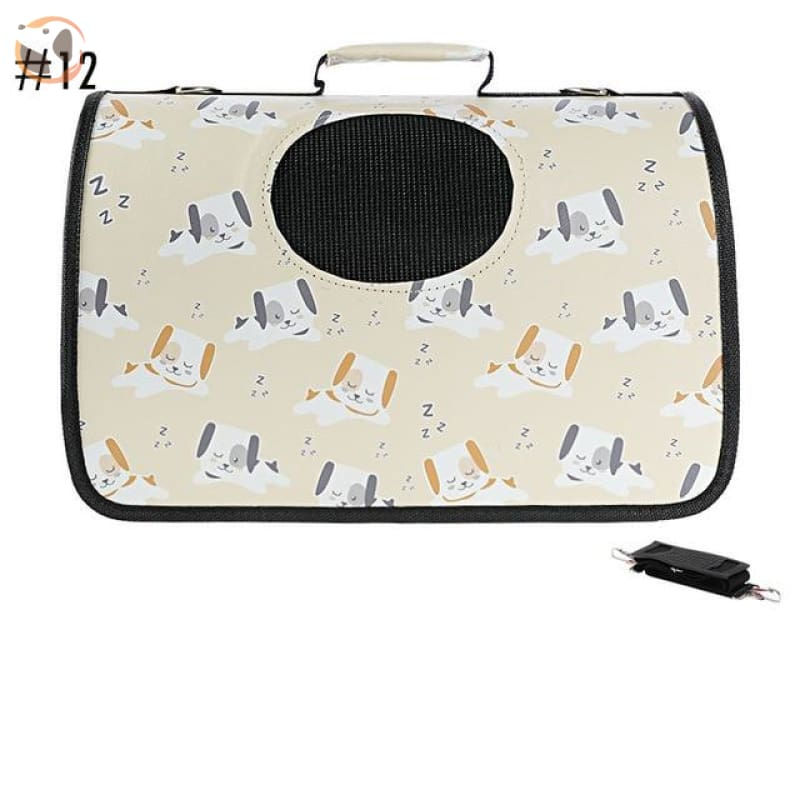 High quality Cat Carrier Backpack - Dog Pattern 1 / M