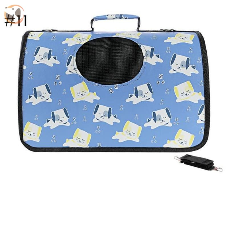 High quality Cat Carrier Backpack - Dog Pattern 2 / S