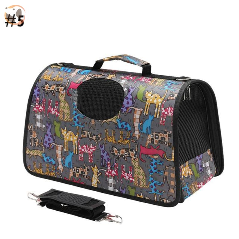 High quality Cat Carrier Backpack - Cat Pattern 1 / S
