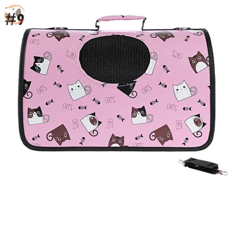 High quality Cat Carrier Backpack - Cat Pattern 2 / S