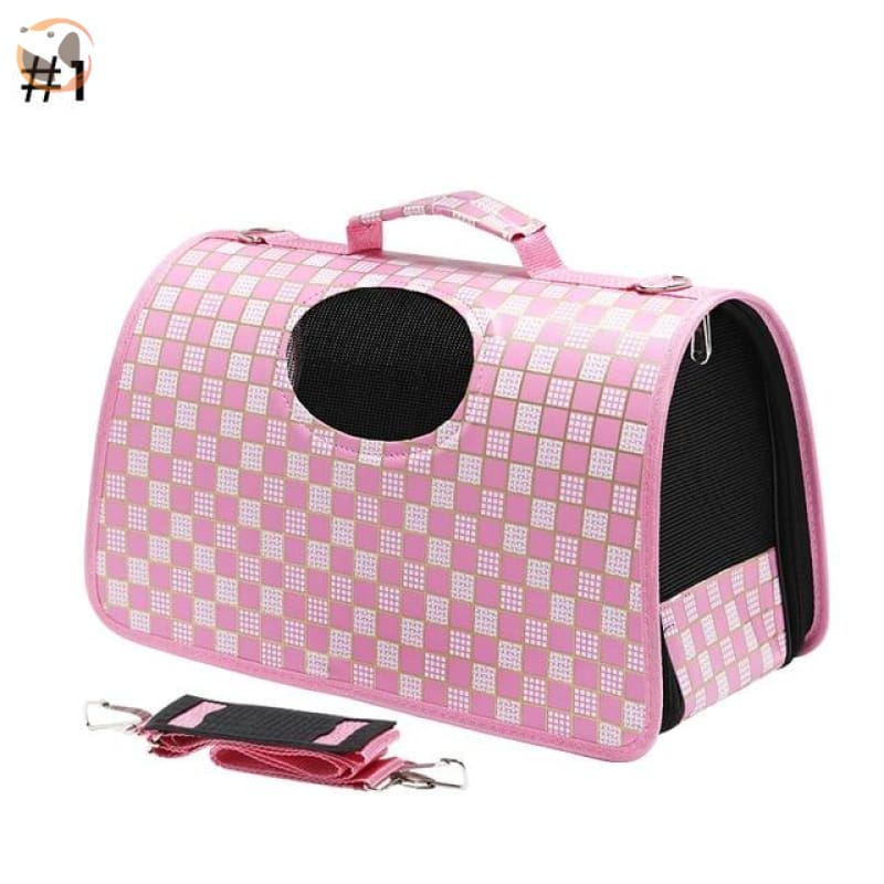 High quality Cat Carrier Backpack - Pink / L
